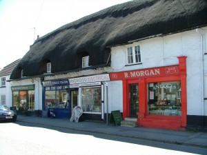 Thatched cottages in Ringwood